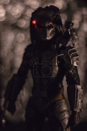 Action figure of Predator