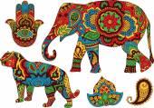 Indian patterns for design