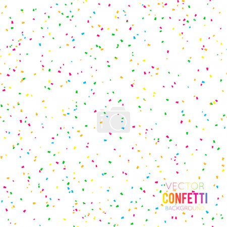 Festive Confetti background