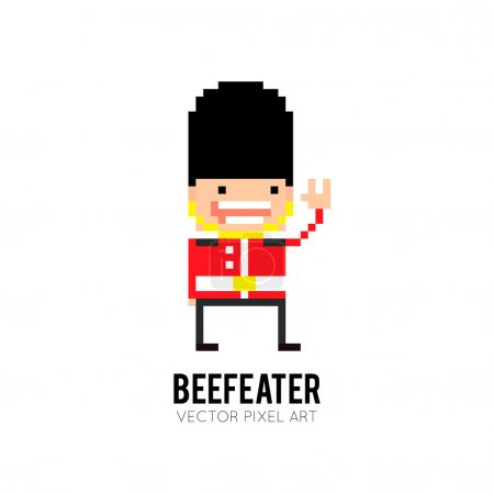 Beefeater guard icon