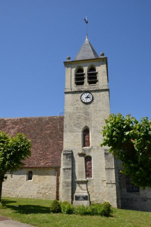France, the picturesque village of  ronquerolles