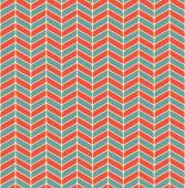 red and blue chevron pattern with rounded corners