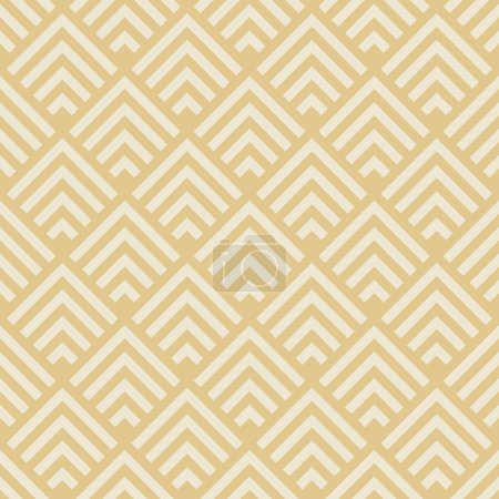 Illustration for Seamless geometric pattern. art deco monochrome texture - Royalty Free Image