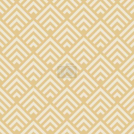 Ilustración de Seamless geometric pattern. art deco monochrome texture - Imagen libre de derechos