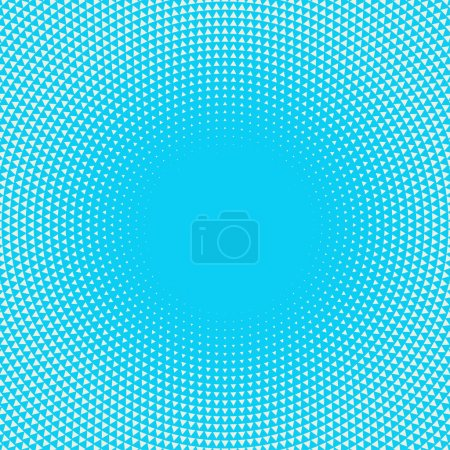 Illustration for Radial background made from triangles - Royalty Free Image