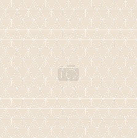 Illustration pour Motif de grille triangle. fond vectoriel sans couture . - image libre de droit
