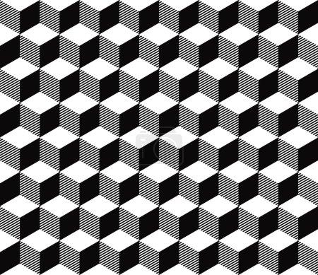 pattern of striped blocks