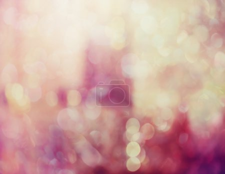 Abstract pink background with bokeh