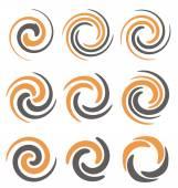 Spiral logo design concepts and ideas