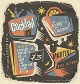 Cocktail list