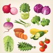 Common and exotic groceries and all kinds of veget...