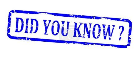 blaue ovale Briefmarke - wussten Sie schon?