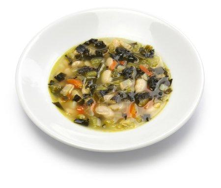 Zuppa di cavolo nero, black kale soup