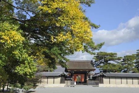 Palace Entrance Gate Kyoto