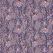 Постер, плакат: Seamless pattern with beautiful irises flowers