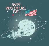 Scheda per il giorno di indipendenza