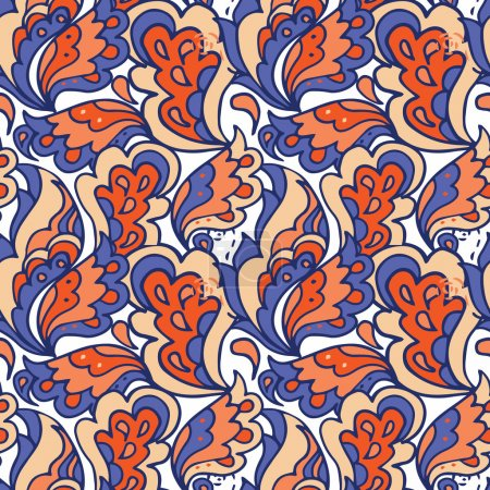 beautiful seamless pattern in indian style