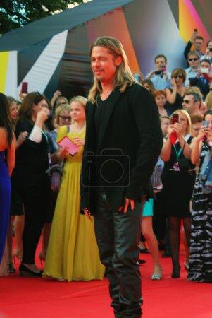 Hollywood actor Brad Pitt at