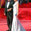 Actress Olga Kabo with her husband at  XXXV Moscow...