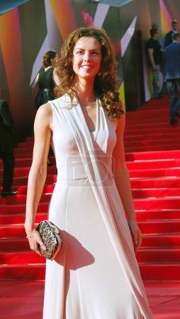 Actress Lyanka Grui at Moscow Film Festival