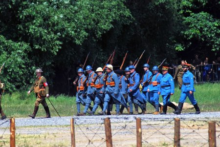 Mincer Nivelle battle reenactment