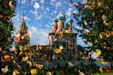 Church of Dimitry on Blood. Kremlin in Uglich, a f...