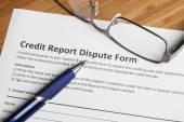 Kreditní zpráva spor skóre