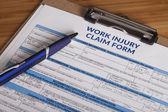 Práce zranění reklamační formulář