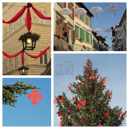 Florentine christmas collage