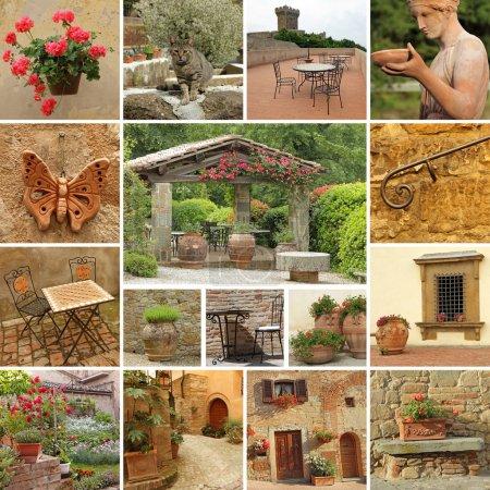 Beautiful tuscan style terrace