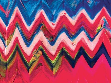 Abstract acrylic ethnic background.