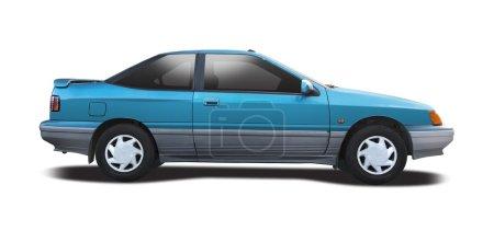 Hyundai S coupe isolated