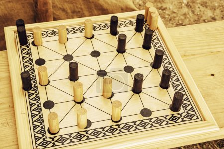 Wooden brain board game