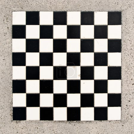 Marble chessboard