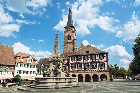 The church of Saint Johannes