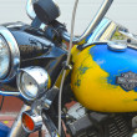 Постер, плакат: Harley Davidson bike