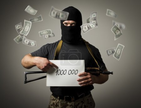Gunman and one million dollars.