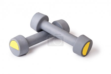 Two of dumbbells