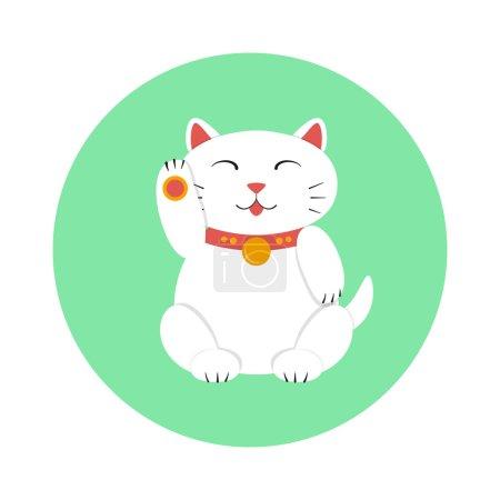 Maneki neko icon