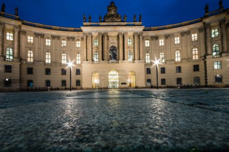 BERLIN, GERMANY - SEPTEMBER 18: Humboldt University of Berlin. Faculty of Law on September 18, 2013 in Berlin, Germany. It is one of Berlin's oldest universities, founded in 1810.