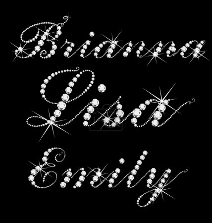 Lisa Brianna Emily women names