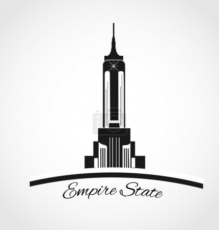 Empire state New York logo