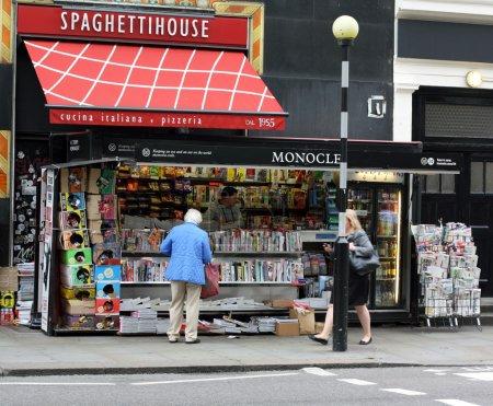 Newspaper Kiosk, London
