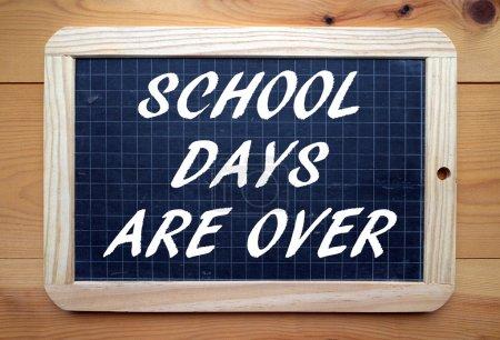 Les journées scolaires sont terminées