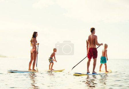 Family Fun, Stand Up Paddling