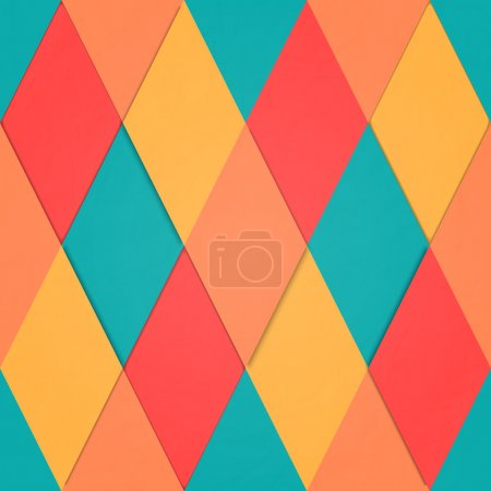 abstract, seamless pattern with, geometric, diamons mosaic ornament. vector fashion backgrounds design. colorful, vogue wallpapers. decorative textured paper