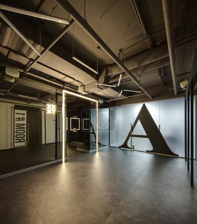 Interior in a loft style