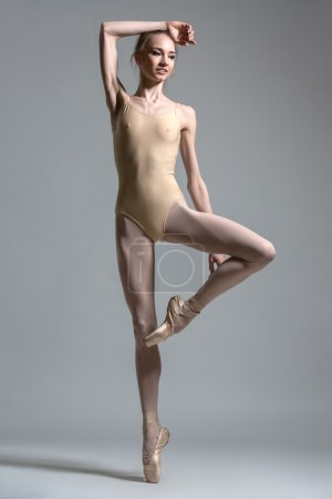 Fashion shot of a ballerina