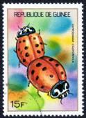 Stamp printed in GUINEE
