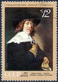 Stempel der Gemälde berühmter Künstler